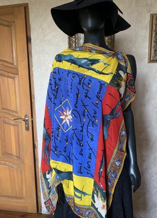 Винтажный платок .silk