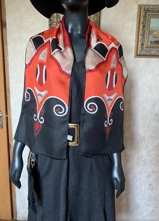 Винтажный шарф silk