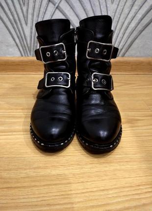Ботинки зимние /  натуральнай кожа / мех / размер 37