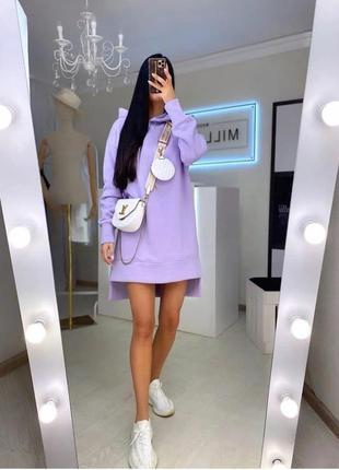 Платье туника теплое в расцветках