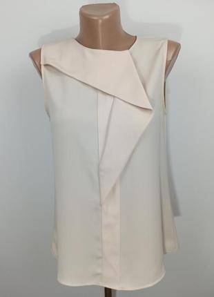 Блуза топ оригинальная деловая zara s