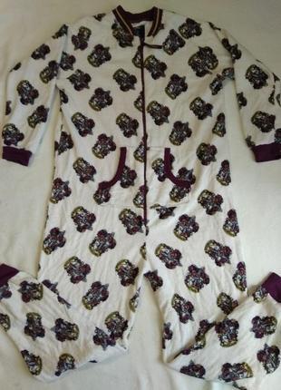 Меховый слип/кигуруми/пижама большого размера.