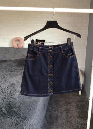 Джинсовая юбка