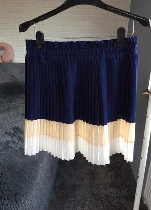 Легкая юбка в складку мелкую