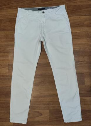Marc o polo белые зауженные брюки, джинсы, коттон