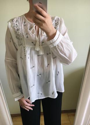 ▪️ блуза с вышивкой от бренда рrimark ▪️
