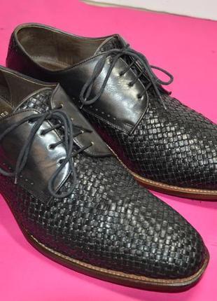 Мужские  кожаные  туфли  prime  shoes