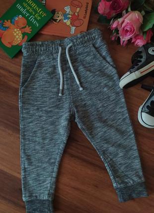 Шикарные спортивные штаны,брючки next на 1,5-2 года
