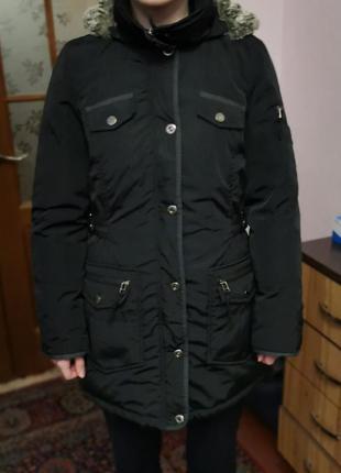 Пуховая куртка, размер 38. м.