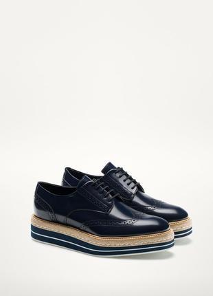 Броги туфли massimo dutti
