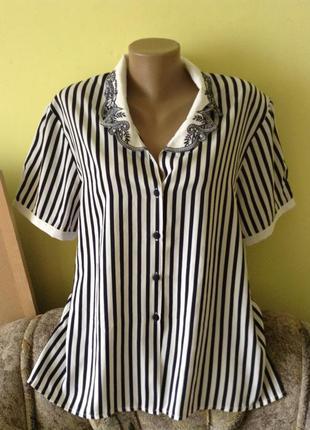 Женски блузки и рубашки розмір-55-60