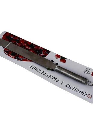 Шпатель кондитерский, нож, лопатка для торта 37 см ernesto