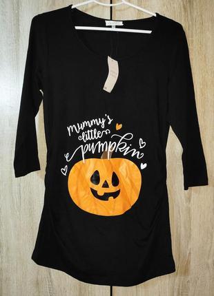 Футболка mommy's little pumpkins