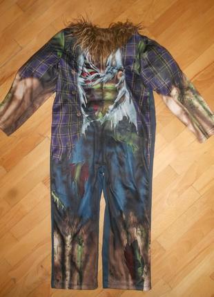 Карнавальный костюм оборотень волк 5-6 лет