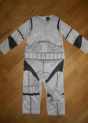 Star wars, карнавальный костюм на мальчика из звёздных войн 3-4 г.