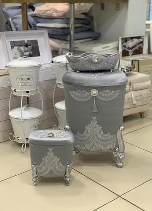 Распродажа!!! набор корзинок для белья