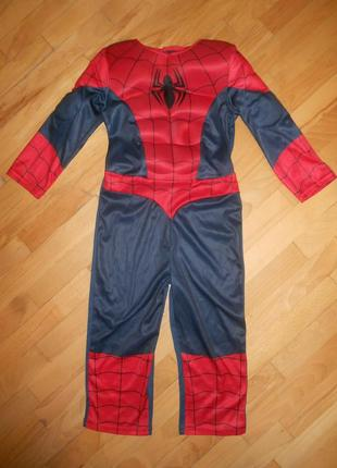 Костюм человек паук spiderman на мальчика - на 2-3 г