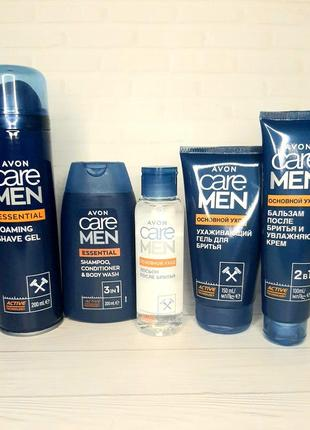"""Набор для мужчины """"основной уход"""" avon care men"""