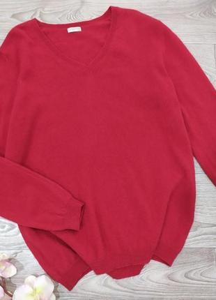 Кашемировая кофта свитер  пуловер