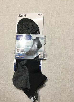 Короткие носки спортивные  crivit . р.45-46
