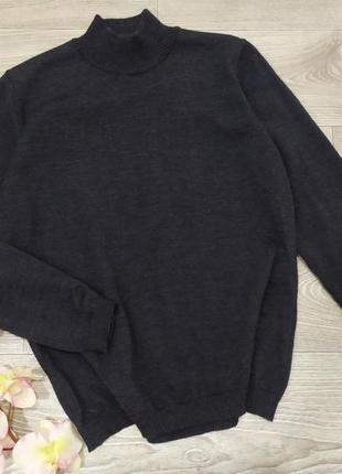 Шерстяная кофта свитер водолазка lucia