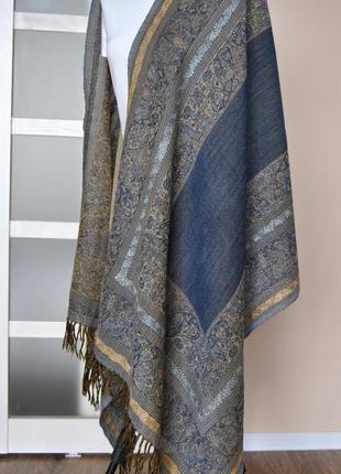Шерстяной палантин marc o polo / шарф