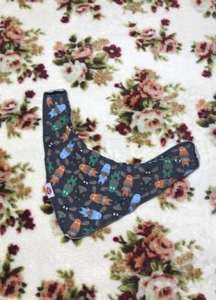 Детский слюнявчик zippy ( зиппи one size оригинал разноцветный)
