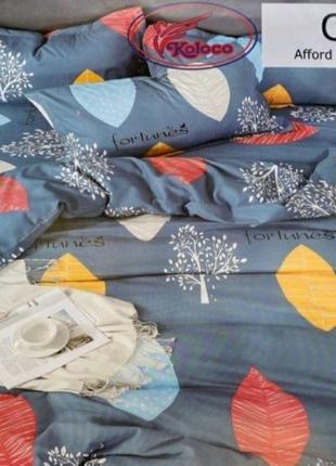 Комплект постельного белья разных расцветок, большой выбор