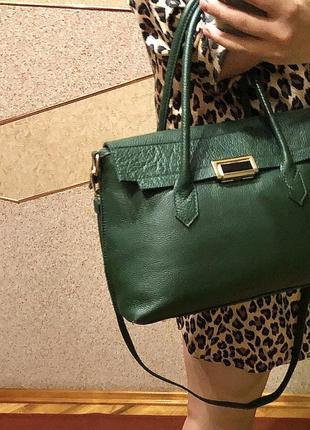 Шкіряна сумка, крута якість