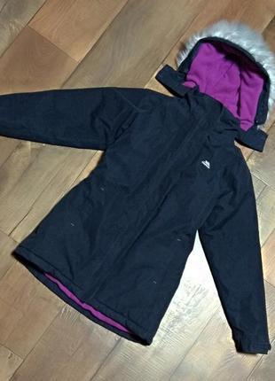 Зимняя куртка спортивная trespass горнолыжная 11-12лет 146-152см