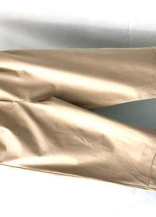 Укороченные широкие брюки с высокой посадкой h&m