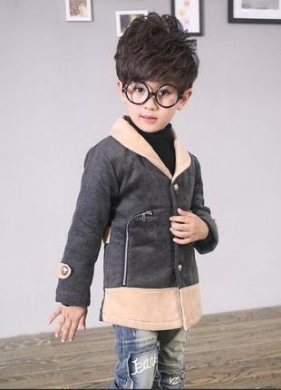 Акция супер стильное пальто ддя мальчика