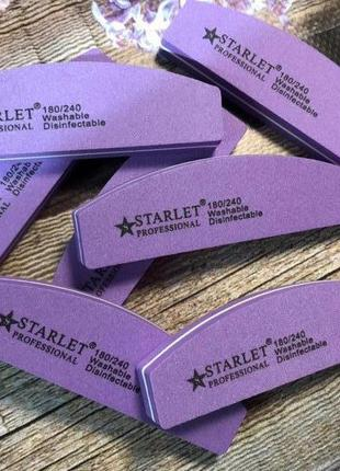 Баф-шлифовщик для ногтей starlet professional 180/240