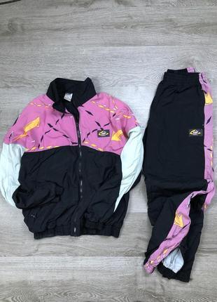Винтажные хайповый спортивный костюм puma disc