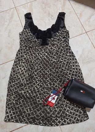 Очень красивое брендовое платье с карманами rage madam ск5