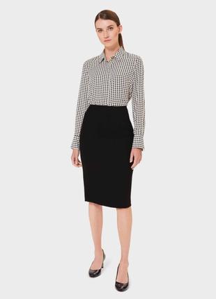 Next tailoring юбка классическая прямая с карманами