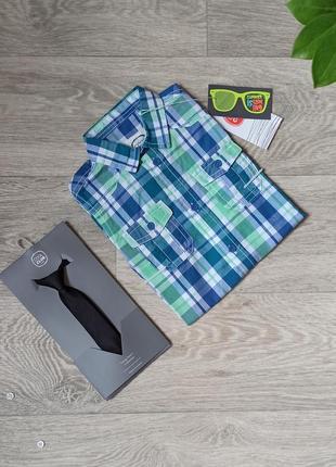 Рубашка, рубашка на мальчика, рубашка с коротким рукавом