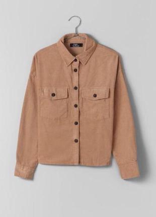 Вельветовая рубашка bershka
