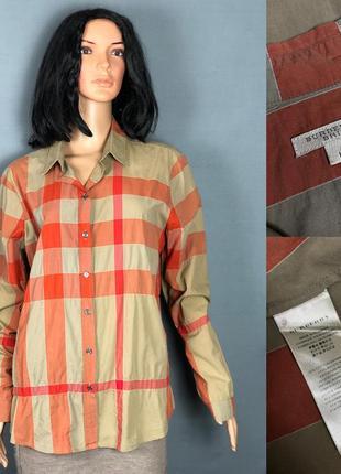 Burberry brit оригинал рубашка клетка