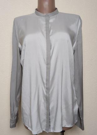 Стильная шелковая блуза windsor /3456/