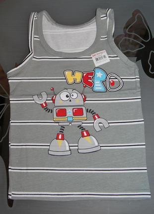 Майка 2-3 рост 98-104 донелла donella турция робот