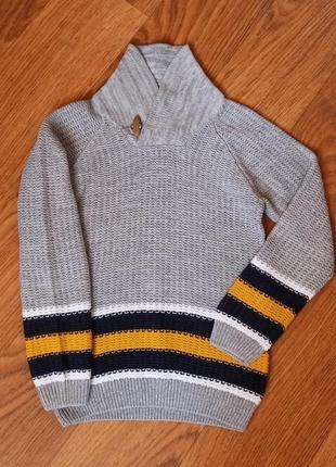 Стильный свитерок matalan на 5-6 лет