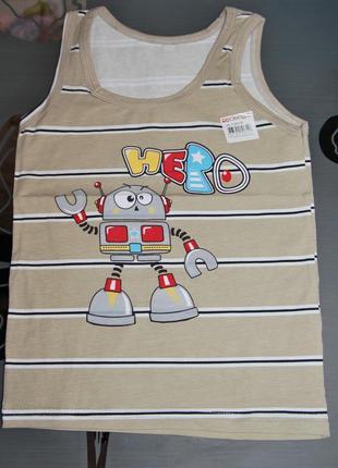 Майка 4-5 рост 110-116 донелла donella турция робот