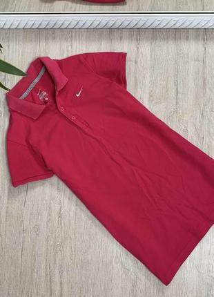 Поло футболка nike найк женская оригинал розовая майка кофта топ