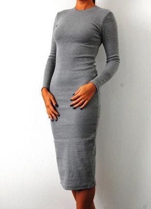 Платье миди кашемир 100%