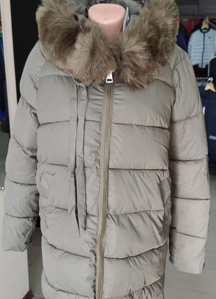 Женская зимняя куртка размер хл на ог до 92см