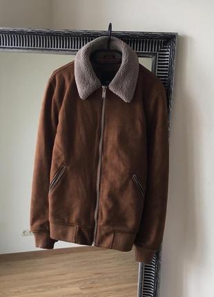 River island куртка дубленка теплая
