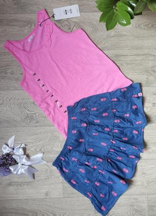 Комплект жля девочки юбка+майка