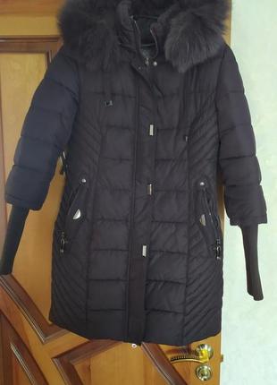 Куртка женская зимняя, очень теплая,размер м