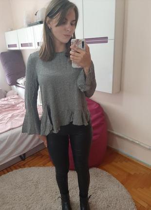 Легкая блузка zara